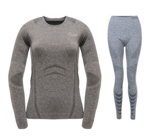Dare2b WOMEN'S ZONAL III BASE LAYER SET - Charcoal Grey